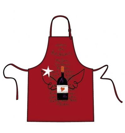 Tablier J'aime le vin de Bordeaux