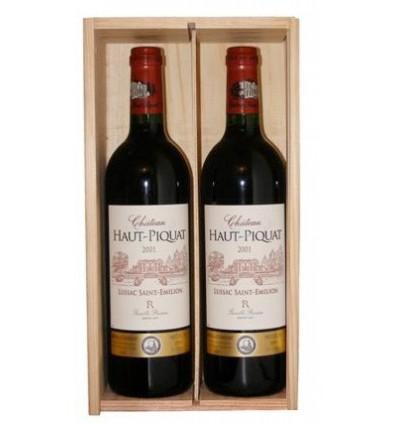 Coffret 2 bouteilles Ch Haut Piquat 2006